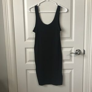 Simple black Bodycon dress